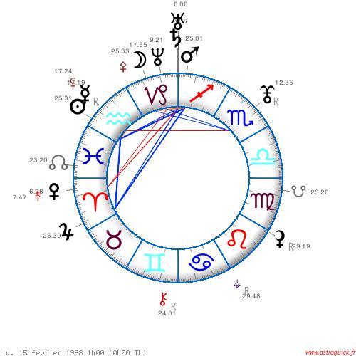 Saturne en Capricorne